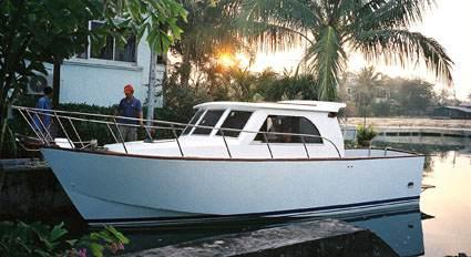 Fishing boats plans work boat plans STEEL KITS POWER, boat building ...