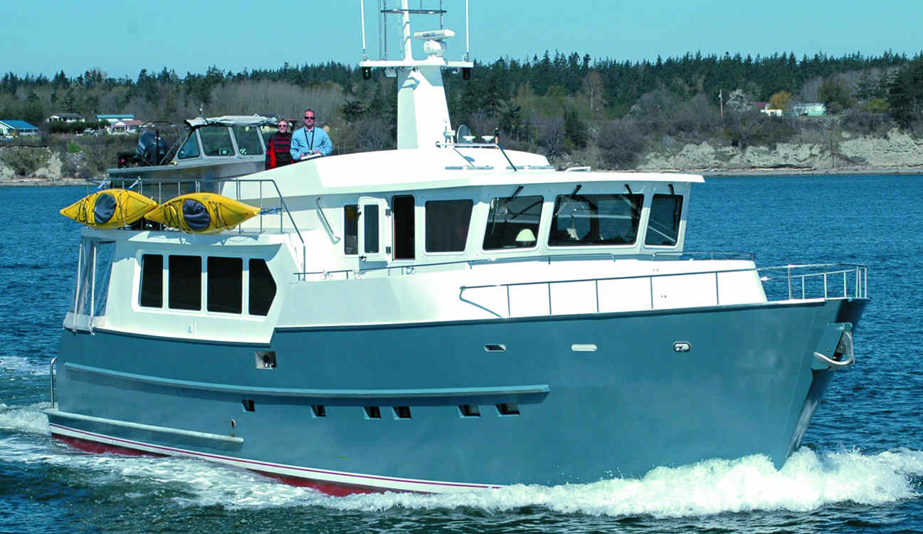 Trawler Yacht 620 Trawlers Passagemakers Live Aboard Vehicle Electrical Center 1gif 15683 Bytes