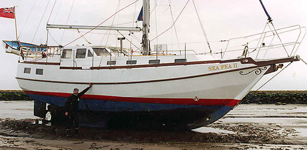 John markes: This Steel cutter sailboat for sale