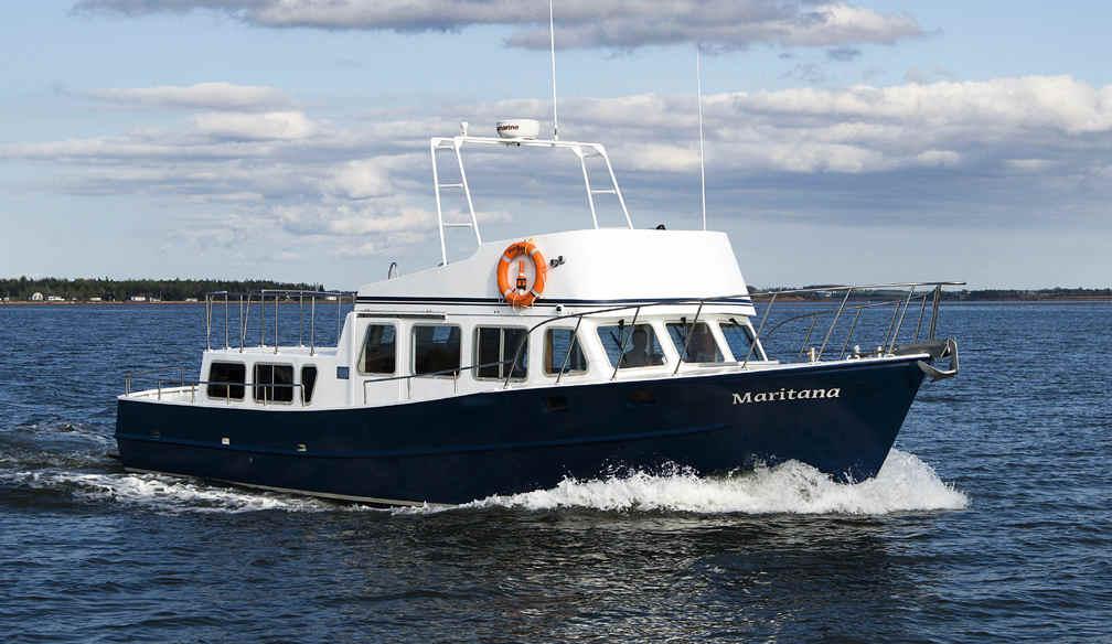 Trawler kits plans boat building power boat steel aluminum for Garden design trawler boat