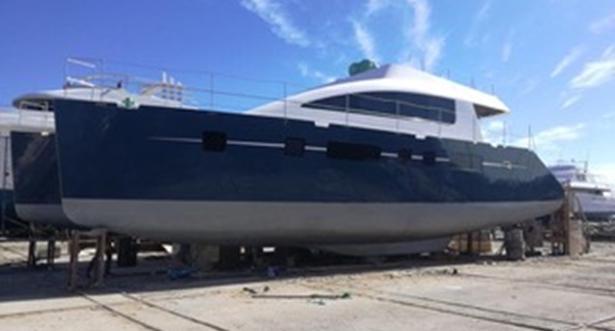 Bruce Roberts, steel boat CATAMARAN plans, boat building ...