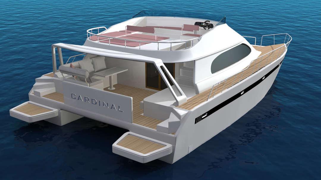 aluminum catamaran boat plans