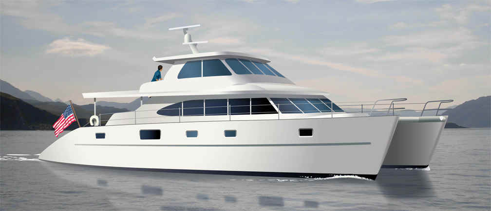 Bruce Roberts, CATAMARAN boat plans, CATAMARAN boat building, boatbuilding, steel boat kits ...