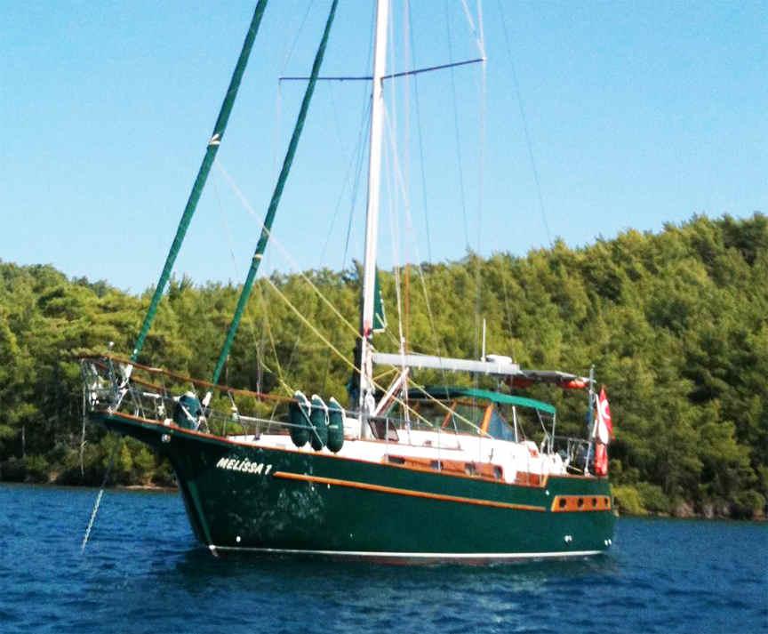 Boat plans Centennial Spray 45 steel wood sail boat