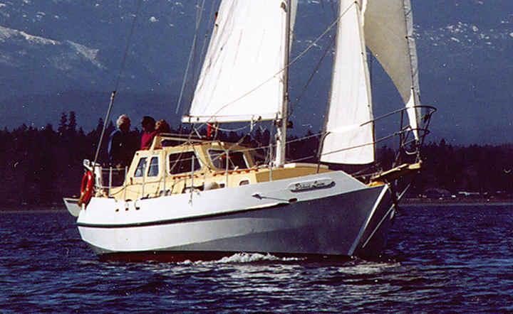 SPRAY 370A, Bruce Roberts, steel boat kits, boat building, boatbuilding, steel boat kits, boat kits