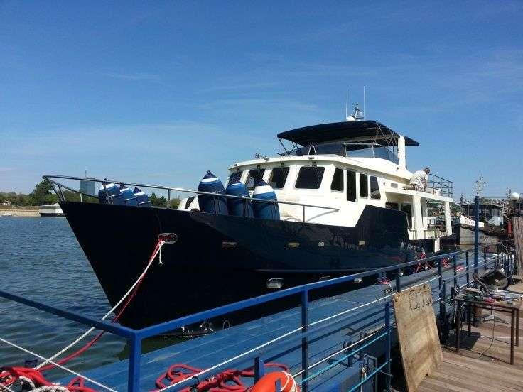 TRAWLER YACHT 57 trawler passagemakers live-aboard steel or aluminum
